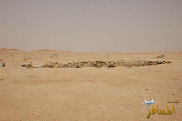 Padang pasir yang kering kontang...