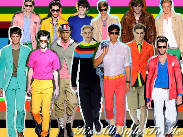 Color blocking for men 1