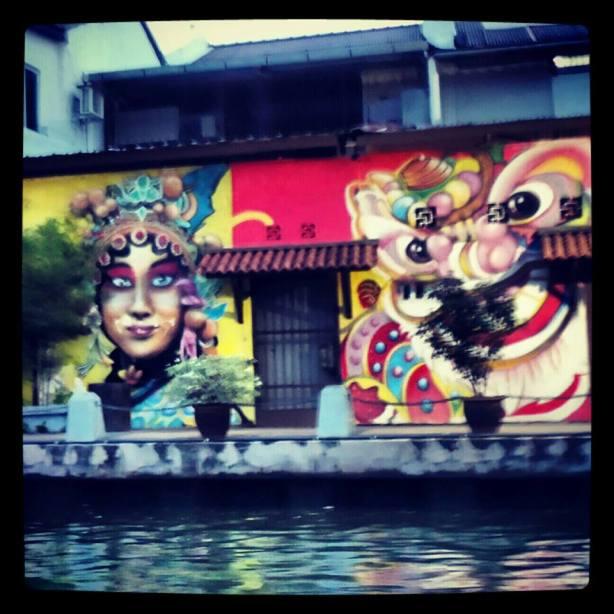 Antara lukisan mural yang menarik perhatian saya!